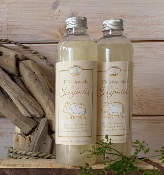 Flüssige Schafsmilch-Seife