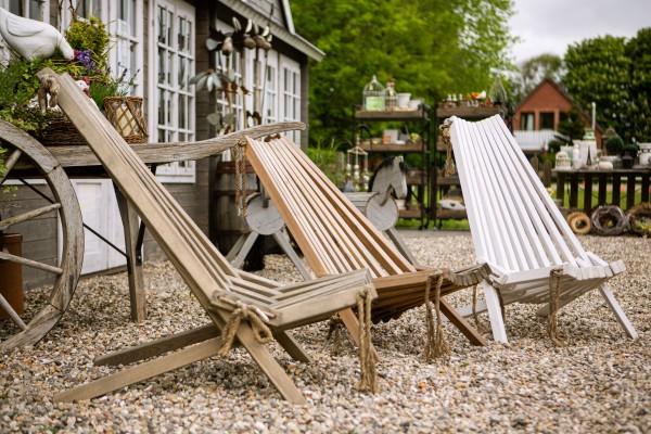 Gartenliegestühle
