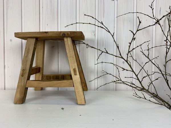 Mini-Holzhocker